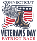 Connecticut Veterans Day Patriot Race Logo https://www.ctveteransdayrace.com/
